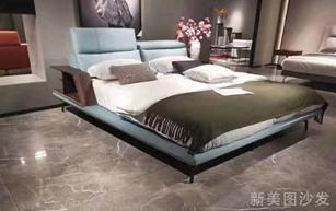 简易布艺软床