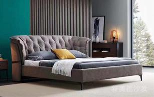 高端布艺软床