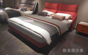 简约布艺软床